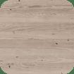 Unfinished Birch Finish on Annabelle Amisco Stool