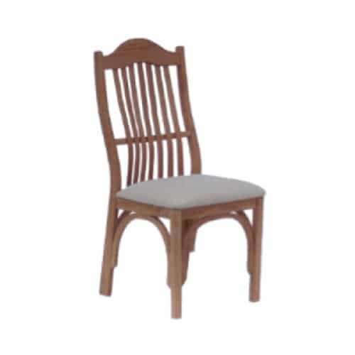 amish upholstered side chair