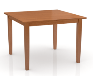 SIMPLY AMISH STUDIO LEG TABLE