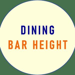 Bar Height Dining
